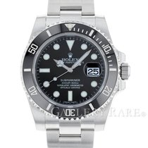 "ロレックス Submariner Date Ceramic Bezel Steel 40MM ""Random Series"""