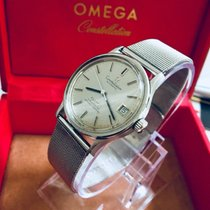 Omega Constellation men's vintage watch cal 1001 Milanese...