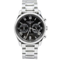 Longines Master Collection Chronograph Black Dial Men's 40mm...