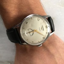 Longines 34mm Corda manual 1952 usado Champanhe