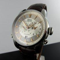 Oris Artelier Worldtimer Steel 42,5mm Silver No numerals