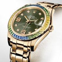 Rolex Pearlmaster nové 39mm Žluté zlato