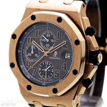 Audemars Piguet Red gold Automatic Brown Arabic numerals pre-owned