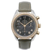Omega 32428384006001 Gold/Steel 2014 Speedmaster Ladies Chronograph 38mm pre-owned
