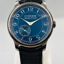 F.P.Journe Tântalo 39mm Corda manual Chronometre Bleu usado