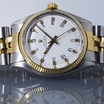 Rolex Oyster Perpetual 31 Gold/Steel 31mm No numerals