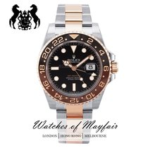 Rolex 126711CHNR Gold/Steel GMT-Master II 40mm new United Kingdom, London