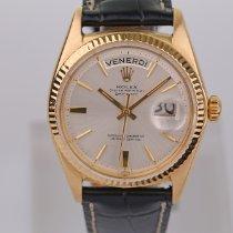 Rolex 1803 Κίτρινο χρυσό 1968 Day-Date 36 36mm μεταχειρισμένο