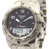 Tissot T-Touch II Titanium 42.7mm Black Singapore, Singapore