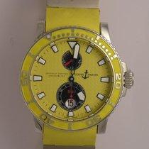 Ulysse Nardin Maxi Marine Diver Steel 42.7mm Yellow