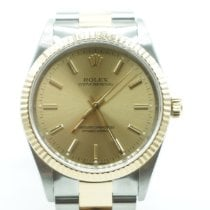 Rolex Oyster Perpetual 34 Gold/Steel 34mm Champagne No numerals United States of America, Florida, Miami