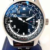 IWC Pilot Worldtimer new 2014 Automatic Watch with original papers IW326201