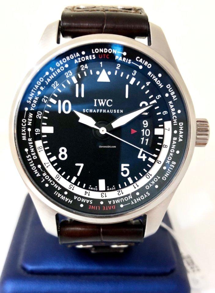 IWC Pilot Worldtimer IW326201 2014 nuevo