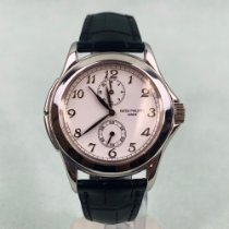 Patek Philippe Travel Time White gold 37mm White Arabic numerals United States of America, California, Marina Del Rey