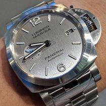 Panerai Luminor Marina 1950 3 Days Automatic Stahl 42mm Grau Arabisch Deutschland, Duisburg/München/Linz