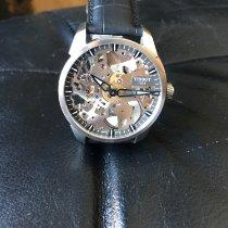 Tissot T-Complication Stahl 43mm Silber Keine Ziffern