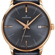 Junghans Meister Classic Steel 38mm Grey No numerals