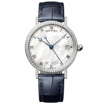 Breguet White gold 33.5mm Automatic 9068BB/52/976/DD00 new