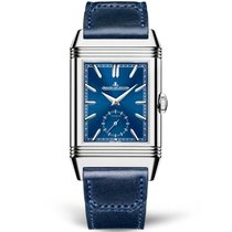 Jaeger-LeCoultre Reverso Duoface Steel 47mm Blue No numerals United States of America, New York, New York