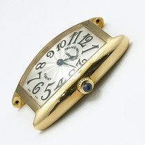 Franck Muller Cintrée Curvex Желтое золото 24.5mm