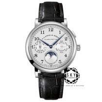A. Lange & Söhne White gold Manual winding Silver Arabic numerals 40mm new 1815
