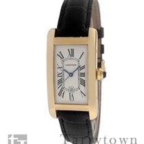 Cartier Tank Américaine Yellow gold 41.4mm Silver Roman numerals United States of America, New York, Hartsdale
