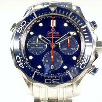 Omega Seamaster Diver 300 M Steel 44mm Blue