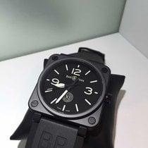 Bell & Ross Ceramic Manual winding Black 46mm new BR 01-92