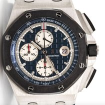 Audemars Piguet 26401PO.OO.A018CR.01 Platinum Royal Oak Offshore Chronograph 44mm new United States of America, New York, Greenvale