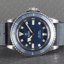 Tudor Submariner 9401 Marine Nationale MN79 with Ledger