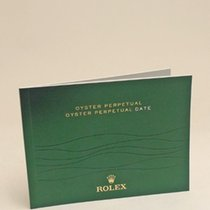 Rolex Oyster Perpetual Date Manual Info Booklet 2013 English