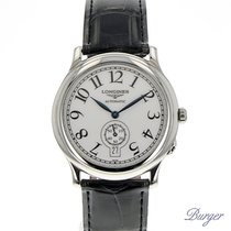 Longines 37.6mm Automatic 2009 pre-owned White