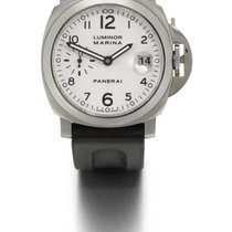 Panerai   A Stainless Steel Cushion-form Automatic Wristwatch...