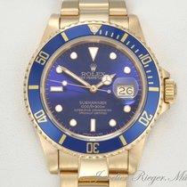 Rolex Submariner Date 16618 Gelbgold 750 Automatik