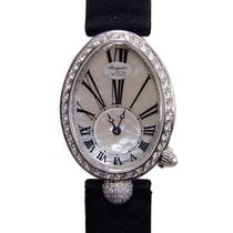 Breguet Reine De Naples 18k White Gold With Diamond White...