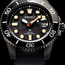 Seiko Prospex The Black Series - SNE493P1 - Solar