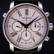 Zeppelin Steel 42mm Automatic LZ127 pre-owned