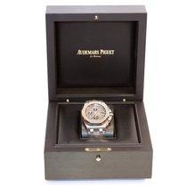 Audemars Piguet Royal Oak Offshore Chronograph Acier 42mm Gris Arabes France, paris