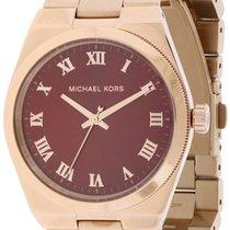 Michael Kors Channing Rose Gold Tone Ladies Watch [] voor