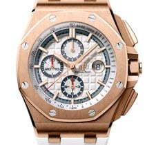 Audemars Piguet Royal Oak Offshore Chronograph Rose gold 44mm White No numerals United States of America, New York, New York