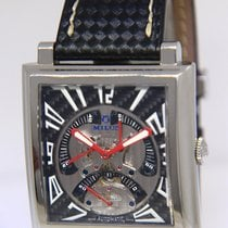 Milus 42mm Automatic pre-owned Herios Black