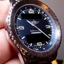 Breitling Chronospace Stål 41.5mm Blå