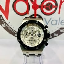Audemars Piguet Royal Oak Offshore Chronograph usados 42mm Blanco Cronógrafo Fecha Caucho