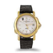Ulysse Nardin San Marco Yellow gold 37mm Silver Roman numerals
