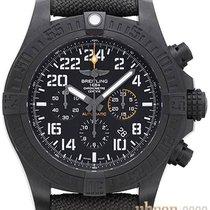 Breitling Avenger Hurricane Plastic 50mm Black No numerals