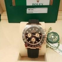 Rolex Daytona Rose gold 40mm Champagne No numerals
