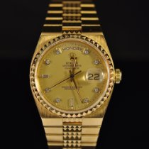 Rolex Day-Date Oysterquartz Or jaune 36mm Champagne Sans chiffres France, Paris