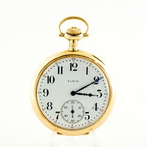 Elgin Watch pre-owned 1912 Yellow gold 46mm Arabic numerals Watch only