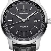 Eterna Steel 42mm Automatic 2948.41.41.1261 new