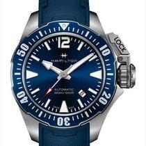 Hamilton Khaki Navy Frogman Steel 42mm Blue